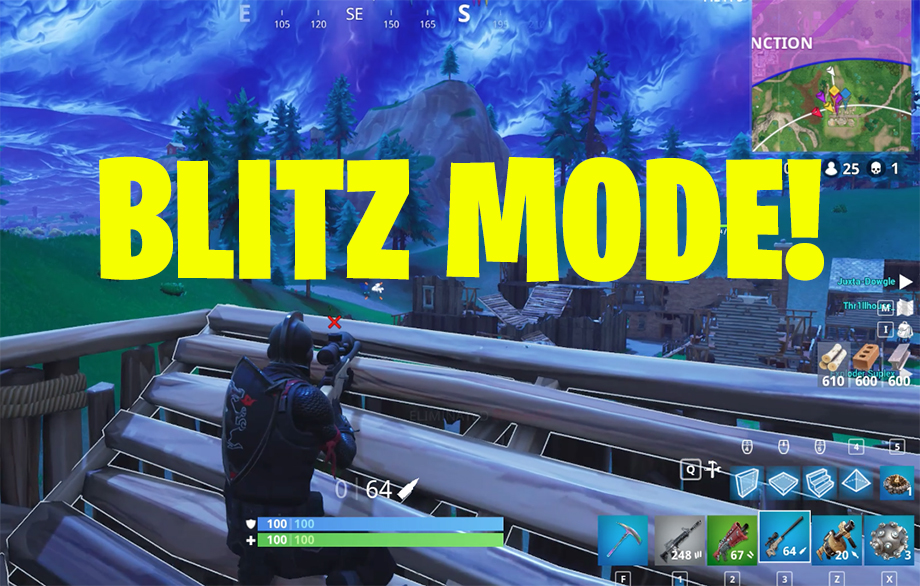 Fortnite Blitz Mode Wins Blitz Mode Is This What Fortnite Esports Will Actually Be Like
