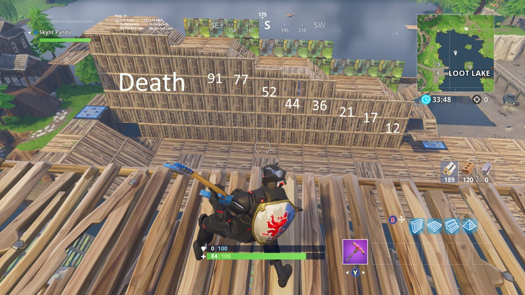 Reddit User has figured out how to calculate Fortnite fall damage