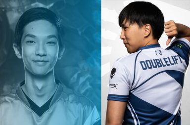 NA LCS Playoffs Doublelift and Blabber