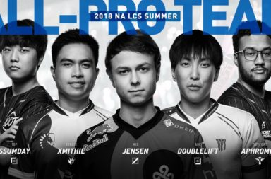 NA LCS summer split All-Pro team