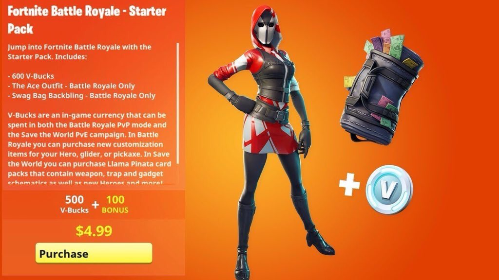 How Much Is A New Starter >> Fortnite Starter Pack 3 How To Get It How Much Is It When