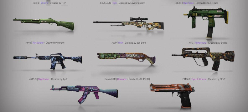 Panorama UI and 17 new skins coming to Counter Strike