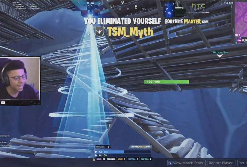 Fortnite pro-player Myth has never placed top 10 in Summer ...