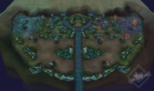 Nexus Blitz Map League of Legends