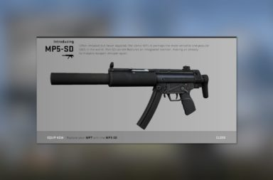 The CS:GO MP5-SD Will Not Be Used At FACEIT Major - MP5 Updates Coming?