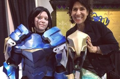 Pharah's Voice Actor Jen Cohn LOVES Pharah Cosplays and Pharmercy!