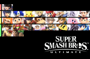 Smash Bros Ultimate Demo Tier List