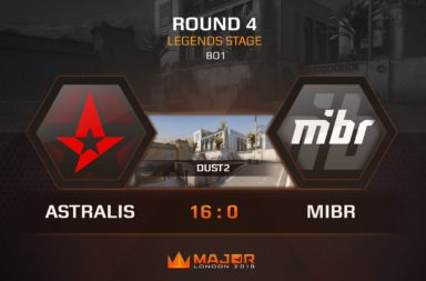 Astralis 16-0 MiBR at FACEIT CS:GO Major - First 16-0 In Major History!
