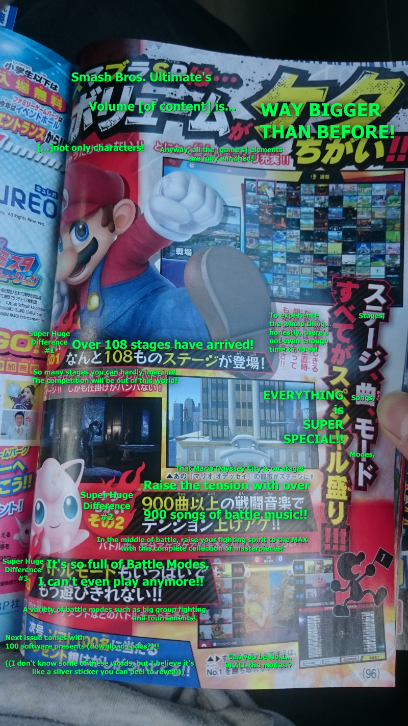 CoroCoro Leaks 108 Super Smash Bros Ultimate Stages - What
