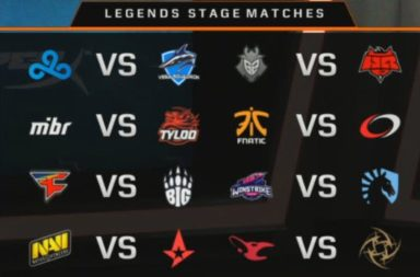 FACEIT Major London New Challengers Results & New Legends Matchups