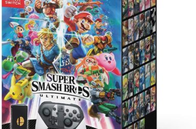 Smash Bros Ultimate Special Edition Box - 2 New Characters To Be Revealed?