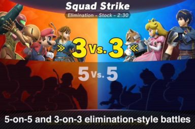 Smash Bros Ultimate Squad Strike Mode Confirmed for Smashadelphia 2018!