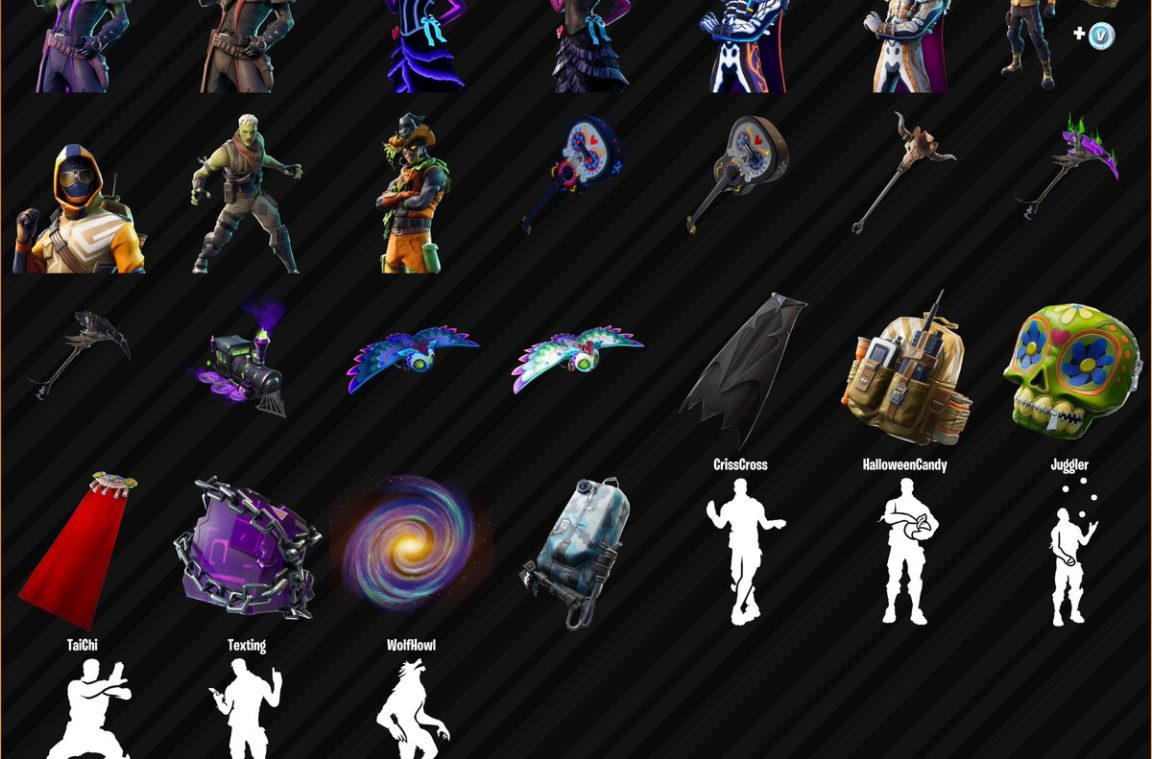 Fortnite 6 20 Cosmetics Fortnite Day Of The Dead And Halloween