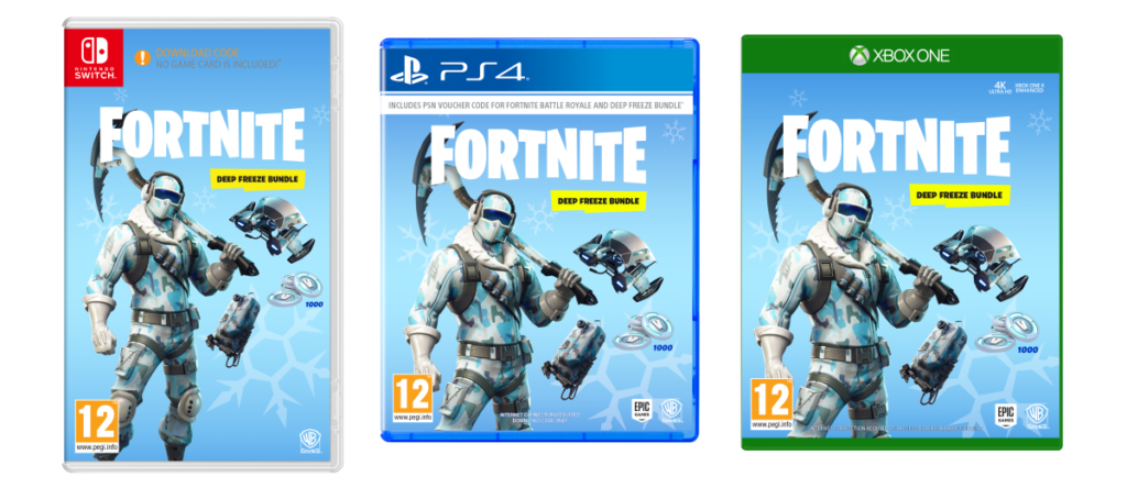 Fortnite Deep Freeze Bundle Packs