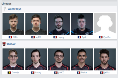 New French CS:GO Team ft NBK, Apex, ZywOo Plays in IEM Chicago Qualifier