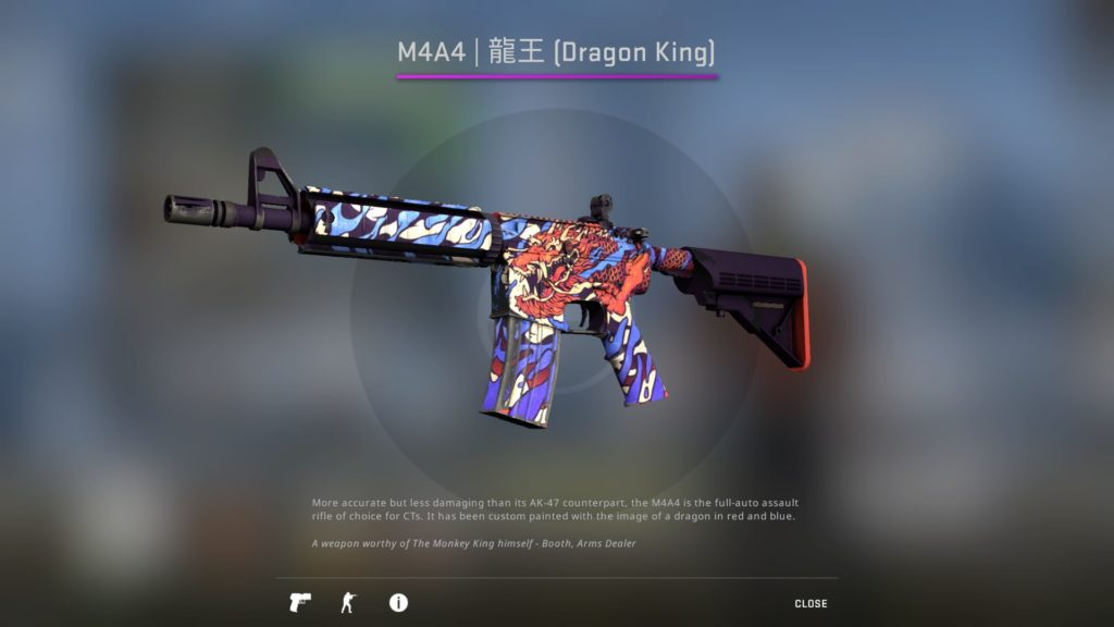 CS:GO M4A4 Dragon King