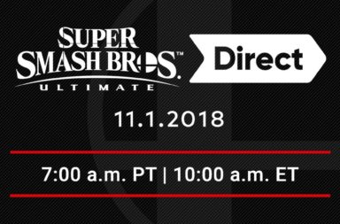 Smash Bros Ultimate Direct November 1st! What To Expect & How To Watch