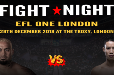 eFL London - Mark Hunt vs Ben Nguyen in Celebrity Esports League!