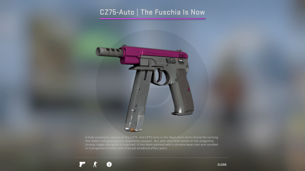 CZ75 The Fuchsia Is Now