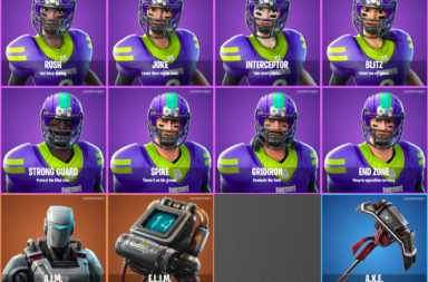 Fortnite 6.22 Leaked Skins - Customizable Fortnite NFL Skins!