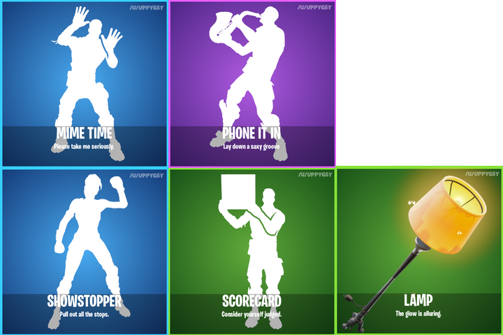 Fortnite 6.31 Leaked Cosmetics Emotes
