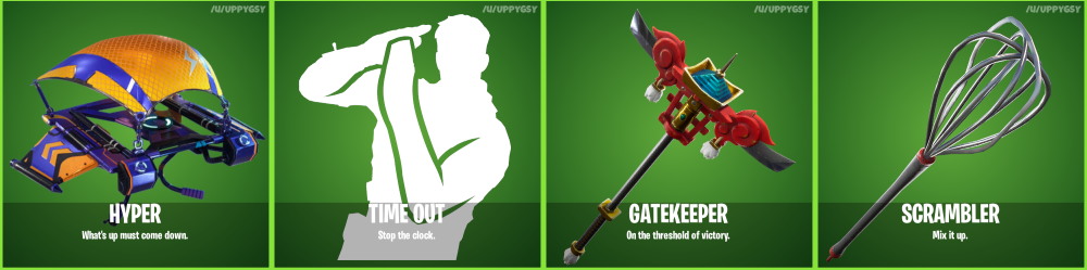 Fortnite 6.30 Leaked Skins and Cosmetics - Pickaxes and Emotes