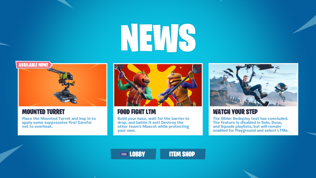 Fortnite 6.3 Updates