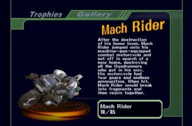 Smash Bros Ultimate Leak - Who Is Mach Rider?
