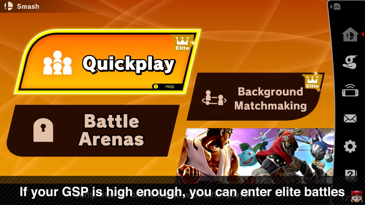 Super Smash Bros Ultimate Online Mode Features - 2v2, Ranks