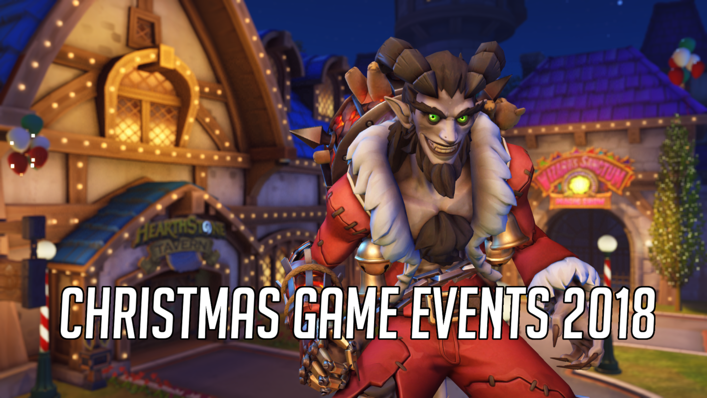 Overwatch Christmas 2019 Skins.Best Christmas Game Events 2018 Overwatch Lol Fortnite