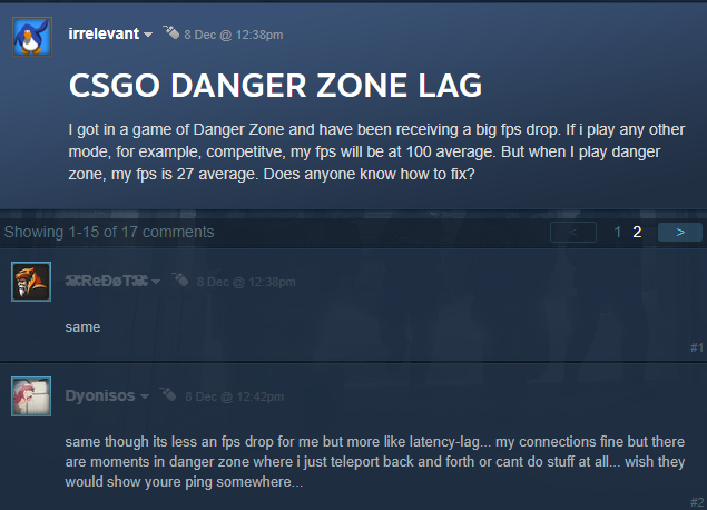 CS:GO Danger Zone Lag - Battle Royale Mode Lagging? - Elecspo