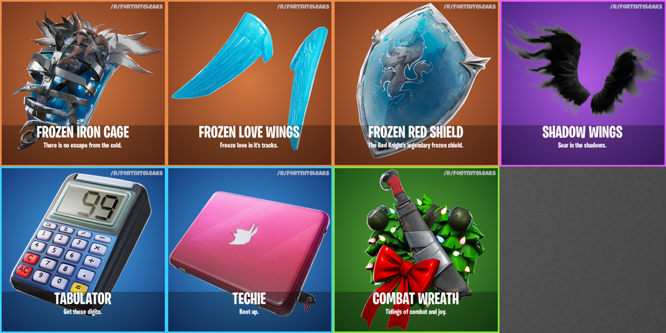 Fortnite S7 Leaks New Winter Skins Gliders Pickaxes