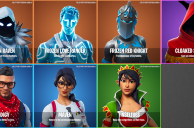 Fortnite S7 Leaks - New Winter Skins, Gliders, Pickaxes, Wraps for 7.10