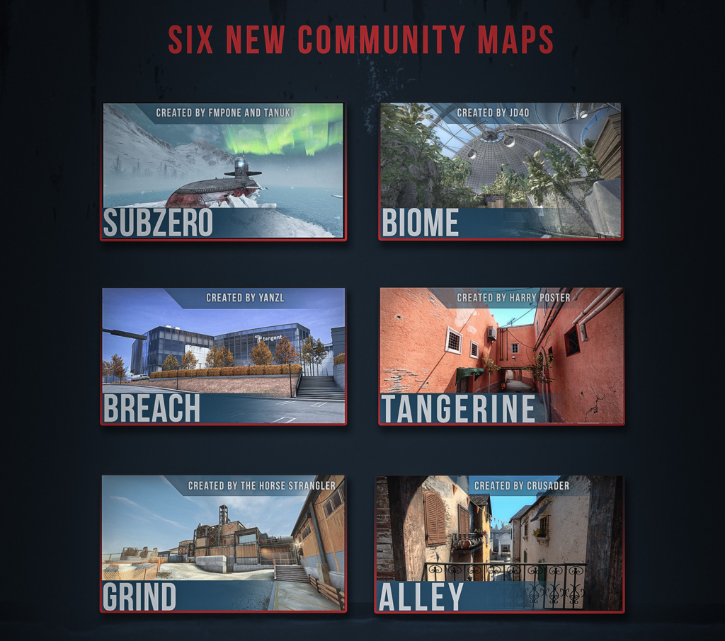 New CS:GO Operation Maps