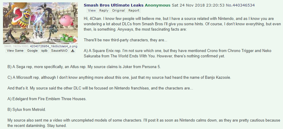Edelgard in Smash Bros Ultimate - DLC Leaks and Rumors - Elecspo