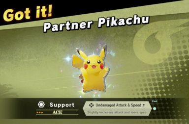 Smash Bros Ultimate Release Patch Adds Let's Go Pikachu/Eevee Spirits