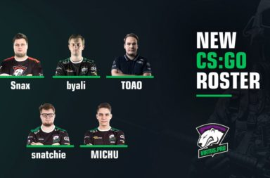 New Virtus Pro CS:GO Roster: Snax, byali, TOAO, MICHU, Snatchie