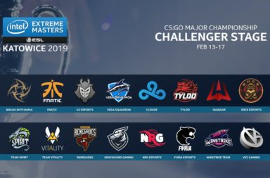 All CS:GO Major Teams for IEM Katowice 2019