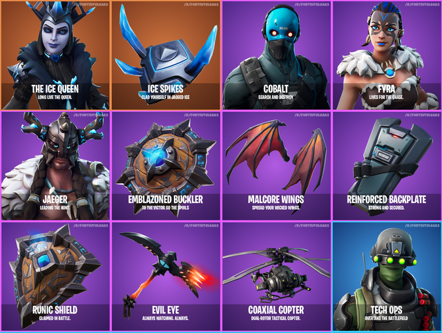 Fortnite 7.20 Skins and Cosmetics Leaked