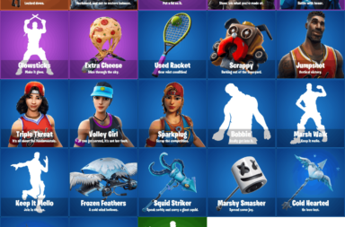 Fortnite 7.30 Leaks - Ice, Basketball, Tennis Skins and Cosmetics