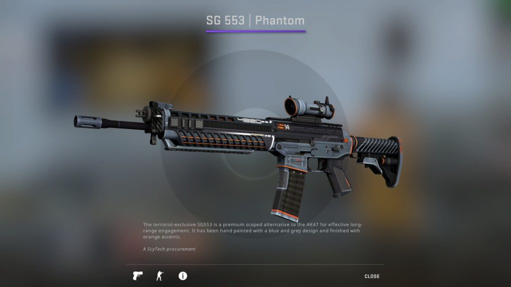 CS:GO SG 553 Phantom