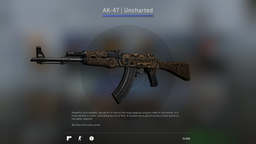 CS:GO AK-47 Uncharted