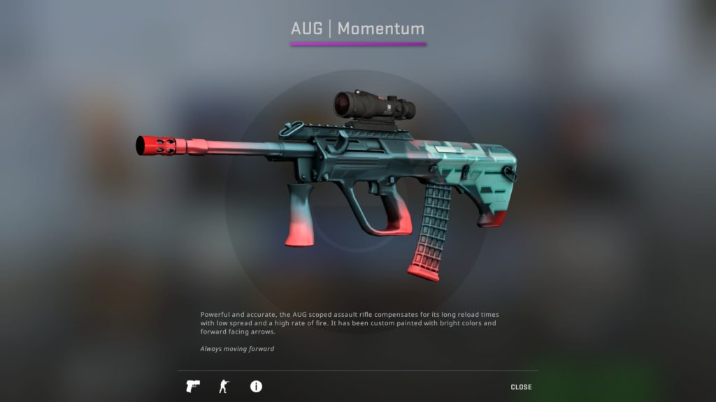 CS:GO AUG Momentum