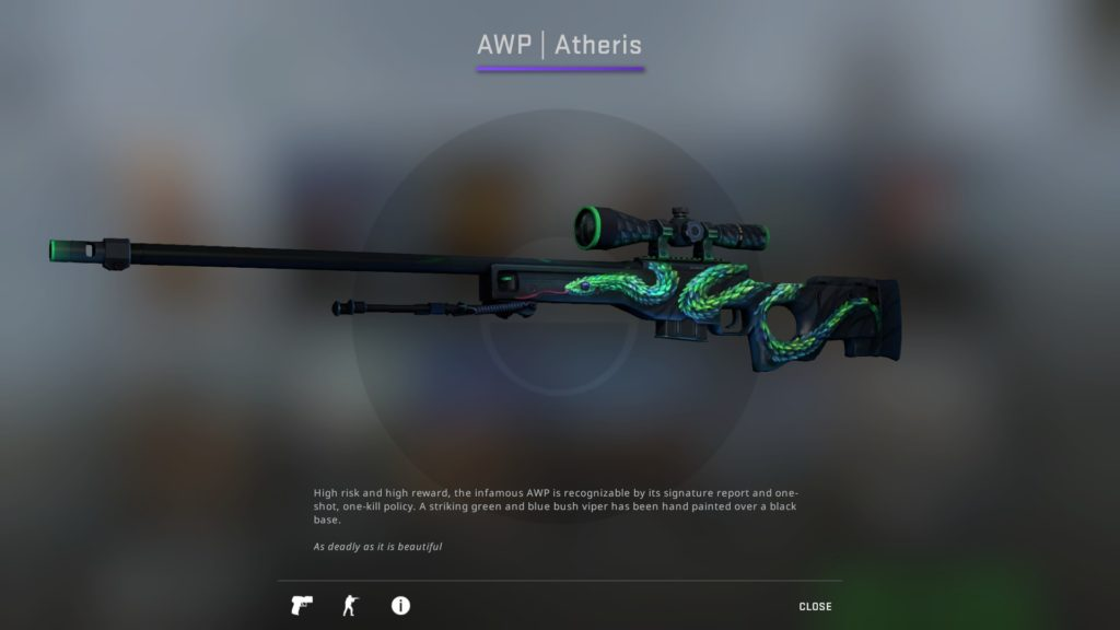 CS:GO AWP Atheris