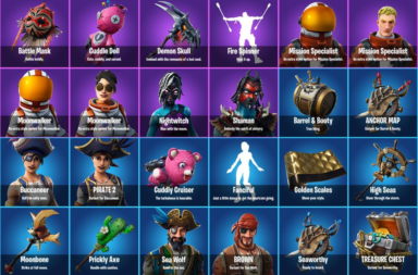 Fortnite 8.20 Skins and Cosmetics Leak - Lava Legends, Pirate Skins & More