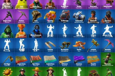 Fortnite Season 8 Leaked Skins and Cosmetics - Pirate Skins & More