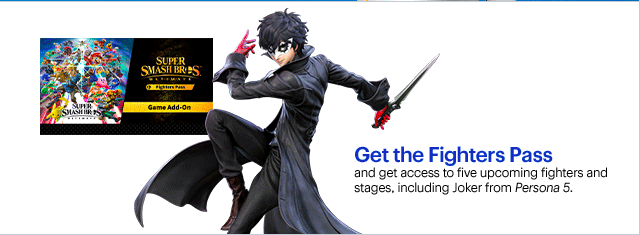 Smash Bros Ultimate Joker leak - Best Buy leaks Joker's render