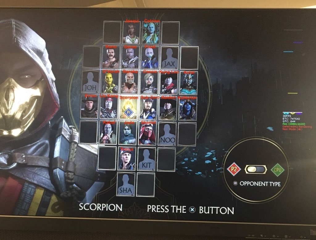 Mortal Kombat 11 Full Roster Leak - 28 Characters for Base