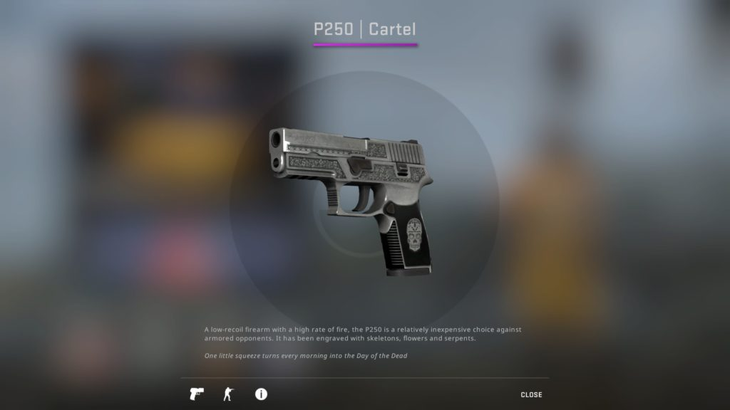 Best P250 Skins - P250 Cartel