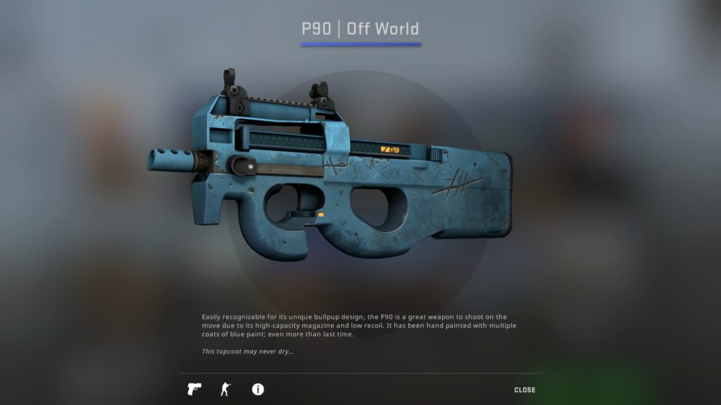 CS:GO P90 Off World